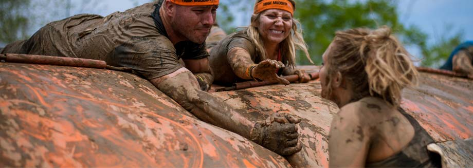 It's Okay to Play Dirty. Tough Mudder presented by Merrell