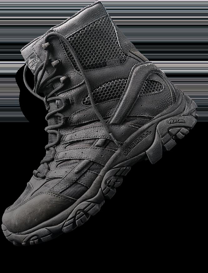 Men's Black Tactical Boots   Merrell