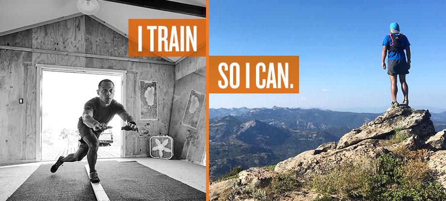 I Train so I can
