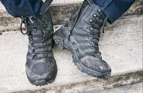 3374c84029 Men's Black Tactical Boots | Merrell