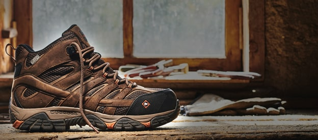 Merrell Moab Vertex work boot.