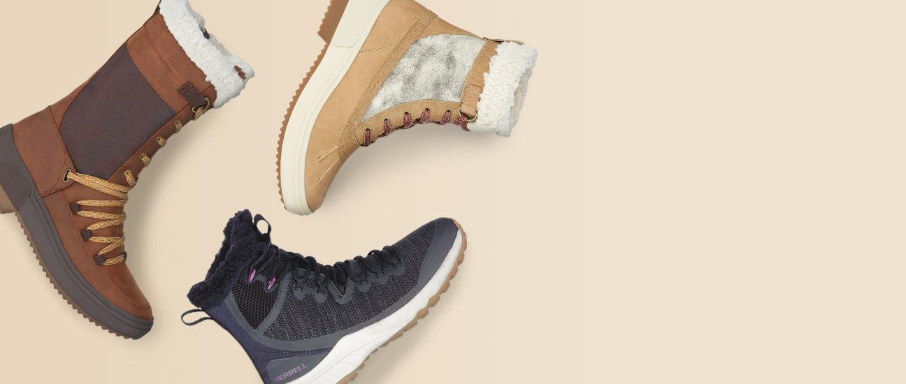 Merrell X White Mountains Shoe Animation