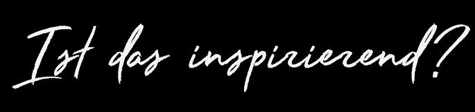 Feeling Inspired?