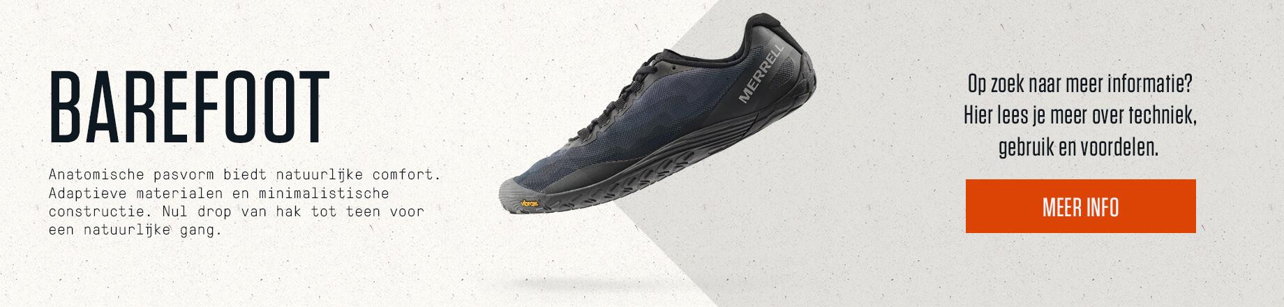 Merrell barefoot shoe.