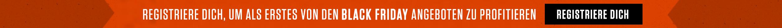 Registriere dich, um als erstes von den Black Friday Angeboten zu profitieren.