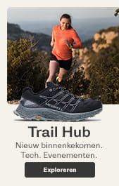 Womens Trail Hub. New Arrivals. Tech. Events.