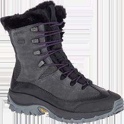 Merrell Moab FST Mid A//C Arctic Grip Waterproof Chaussures de Randonn/ée Hautes gar/çon