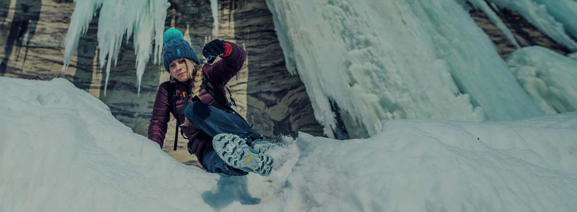Introducing Vibram® Arctic Grip™.