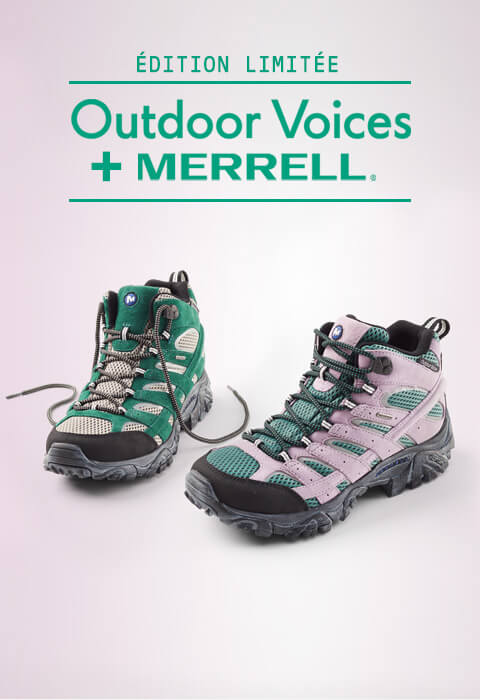 Merrell Outdoor Voices.