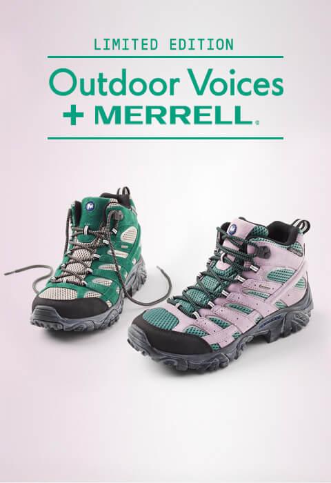 Merrell Outdoor Voices.