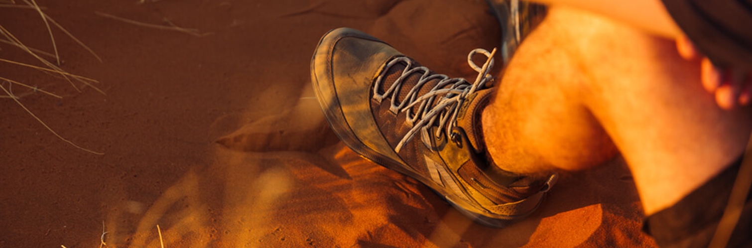 Hand drawing of Merrell Boot