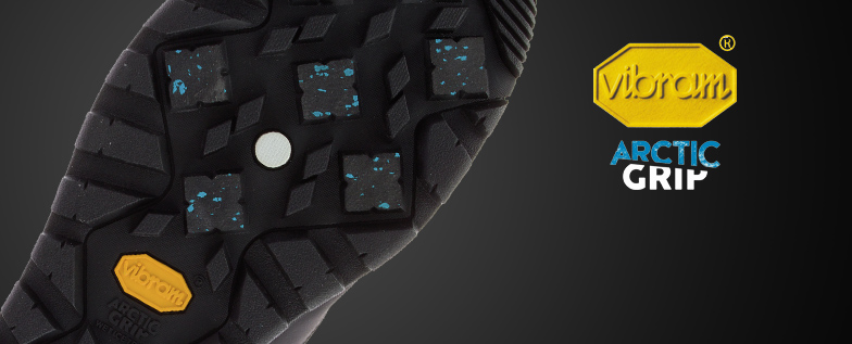 Vibram Arctic Grip Technology