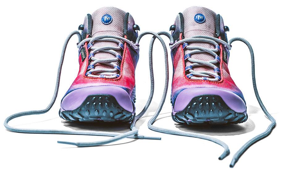 Merrell's Chameleon 7 shoes.