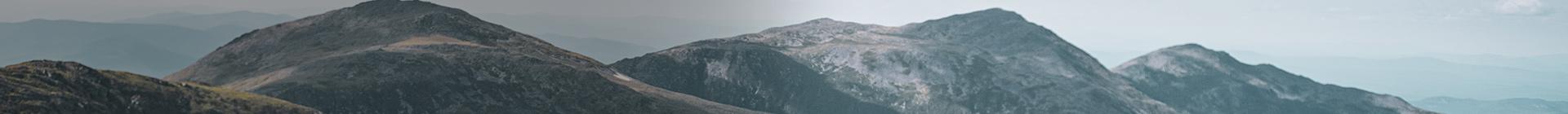 Mountain peaks.