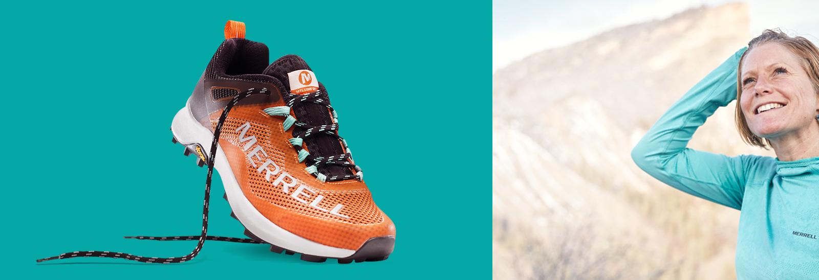 Tread of Merrell's Arctic Grip Boot.