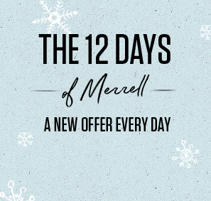 The 12 Days of Merrell A New Offer Every Day