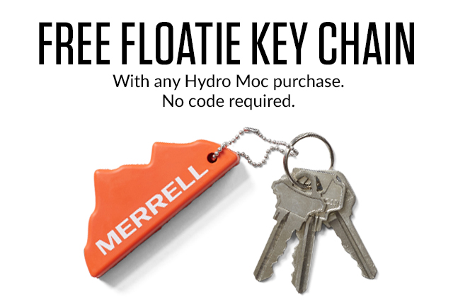 Free Floatie Key Chain with Hydro Moc purchase