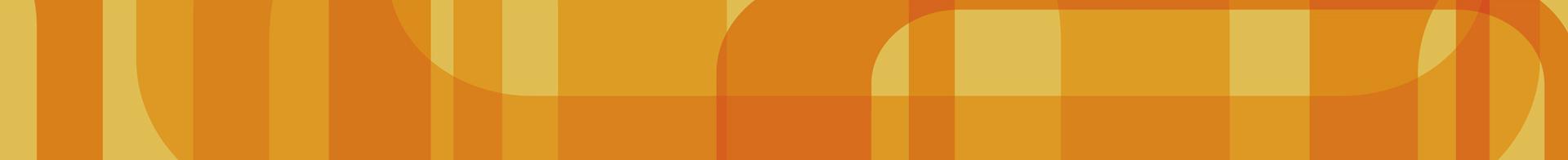 Orange funky retro background