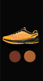 Merrell X Honey Stinger.