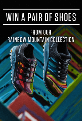 Win a pair of shoes from our Rainbow Mountain Collection