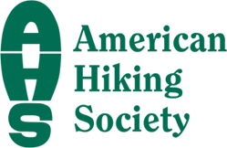 American Hiking Society logo.