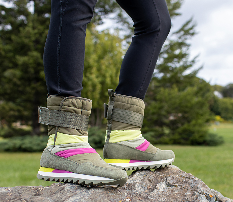Winter boots to keep your feet warm and cozy in the cold.