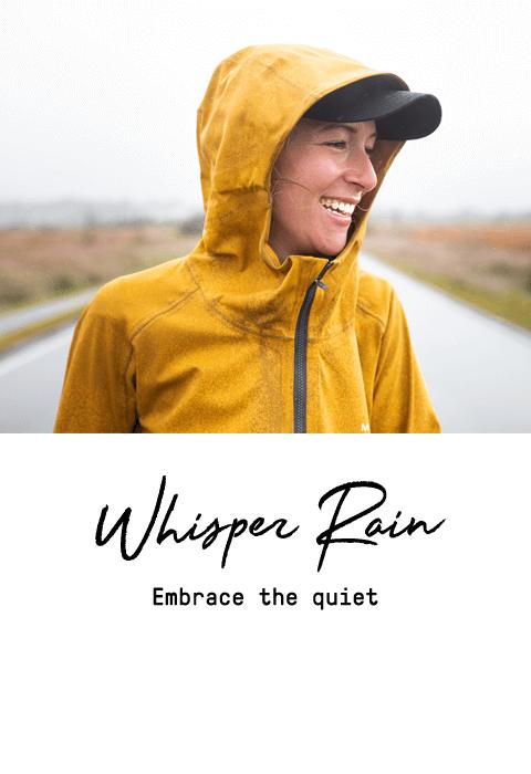 Whisper Rain, Embrace the quiet.