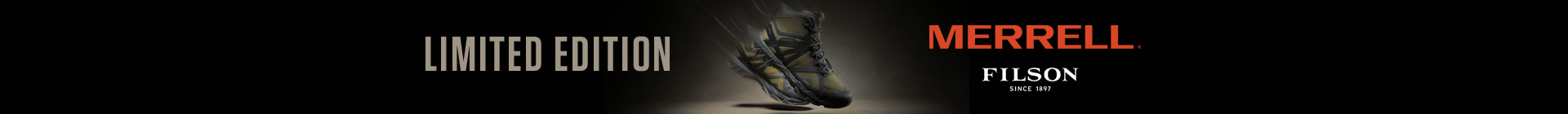 Limited edition - Merrell Filson.