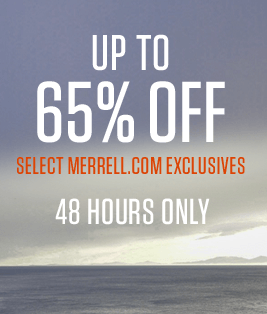 Up To 65% Off Merrell.com Exclusives | 48 Hours Only