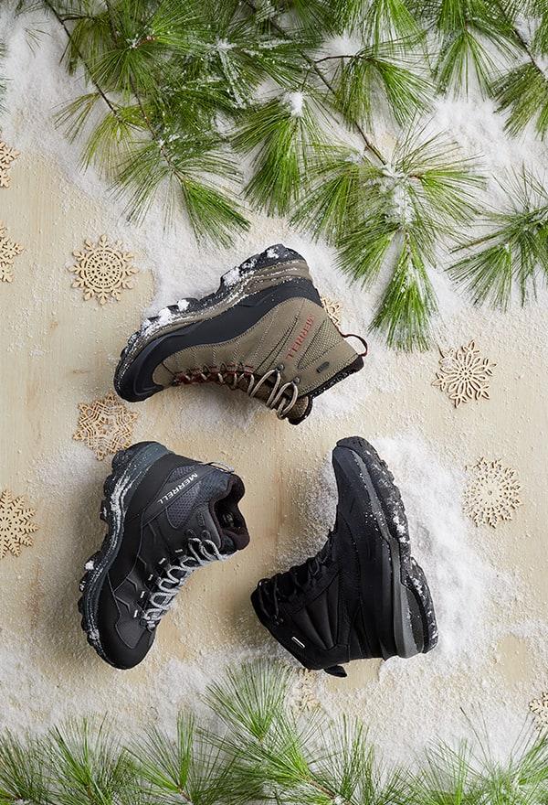 Men's Merell Boots.
