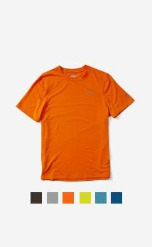 Men's Trek Tencel™ SS Tee in orange