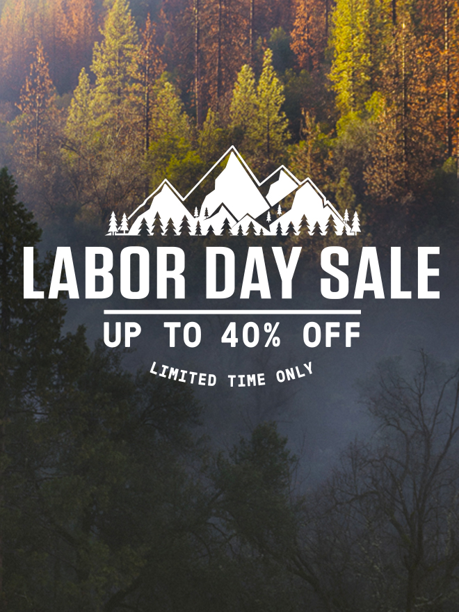 Labor Day Sale. Up to 20% Off. Limited time only.