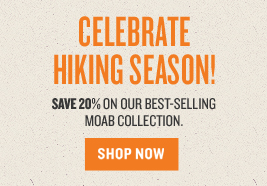 Extra 20% off Moab Products - No Code Required