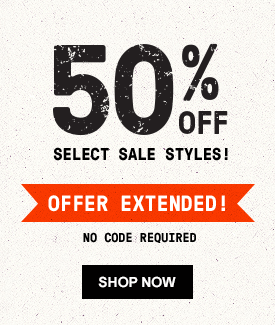 50% OFF Select Sale Styles! Extended! No Code Required | Shop now.