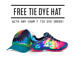 Free Tie Dye Hat - with any Cham 7 tie dye order!
