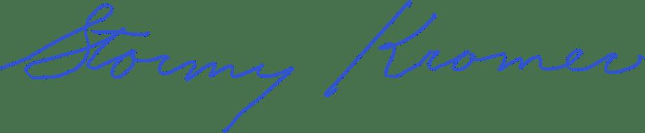 Hand Written Stormy Kromer