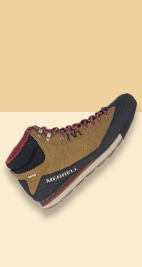 A very trendy Merrell boot.