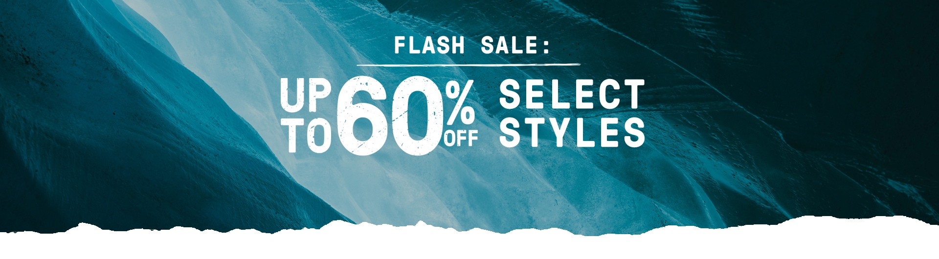 Flash Sale: Up to 60% off select styles.
