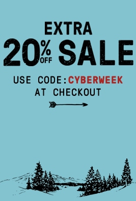 Extra 20% off sale. Use code CYBERWEEK at checkout.