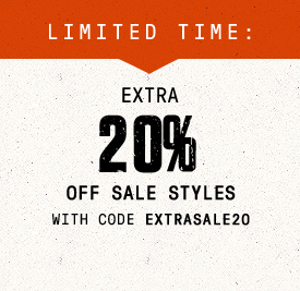 Limited Time: Extra 20% Off Sale Styles with Code EXTRASALE20 | Shop Now