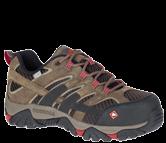 Women's Moab 2 Vent Waterproof Comp Toe Work Shoe