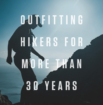 Outfitting hikers for more than 30 years