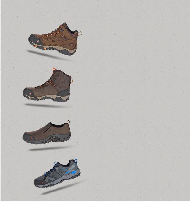 online store d3994 4aa44 Work Boots & Shoes: Composite Toe Work Boots | Merrell