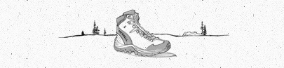 Hand Drawn Boot