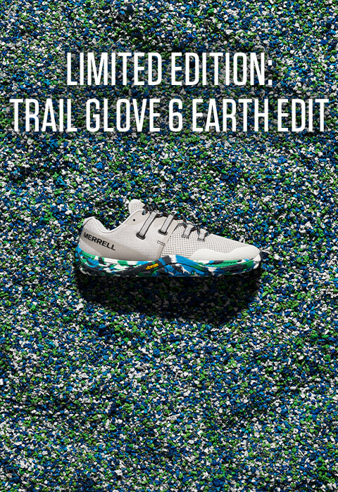 limited edition: trail glove 6 earth edit.