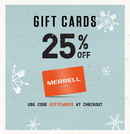 25% Off Gift Cards. Use Code GIFTCARDS25 at checkout.