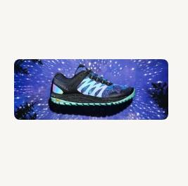 A Nightsky Sneaker.