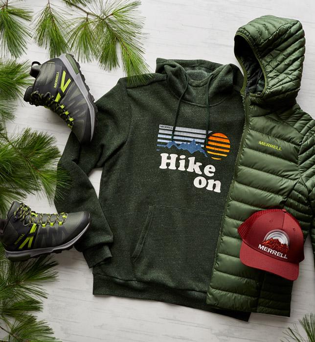 Happy Hour Hiker look