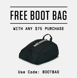 Free boot bag with any $75 purchase Use code BOOTBAG