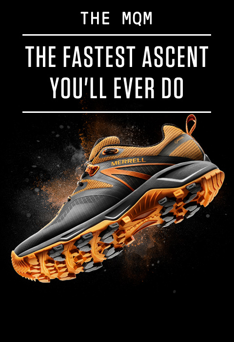 The MQM. The fastest ascent you'll ever do.